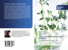 Bookcover of Anticancer potential of natural products