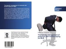 Bookcover of Therapeutic management of mckenzie with kinesio taping for MLB