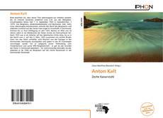 Anton Kalt kitap kapağı