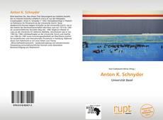 Anton K. Schnyder kitap kapağı