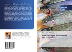 Buchcover von Aquaculture and Supplemental feed formulation