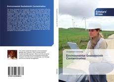 Buchcover von Environmental Geohelminth Contamination