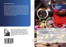 Bookcover of Improvement of Tea