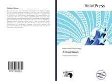 Bookcover of Anton Hoen