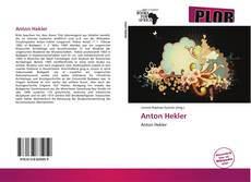 Bookcover of Anton Hekler