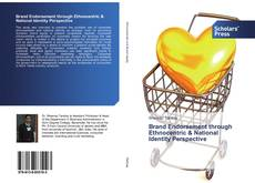 Bookcover of Brand Endorsement through Ethnocentric & National Identity Perspective