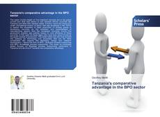 Couverture de Tanzania's comparative advantage in the BPO sector