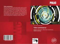 Bookcover of Tele-commerce