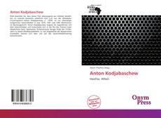 Buchcover von Anton Kodjabaschew