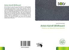 Portada del libro de Anton Kaindl (Bildhauer)