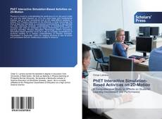 Bookcover of PhET Interactive Simulation-Based Activities on 2D-Motion