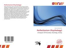 Portada del libro de Perfectionism (Psychology)