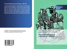 Bookcover of Thermal Engineering Laboratory- I Manual