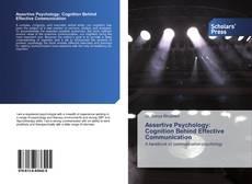 Assertive Psychology: Cognition Behind Effective Communication kitap kapağı