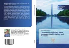 Capa do livro de Treatment of domestic water sources using M. oleifera and J. curcas