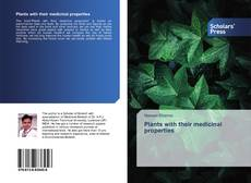 Capa do livro de Plants with their medicinal properties