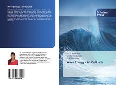 Bookcover of Wave Energy - An OutLook