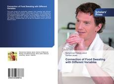 Bookcover of Connection of Food Sweating with Different Variables