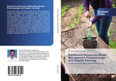 Capa do livro de Earthworm Resources Waste Management Pharmacology and Organic Farming.