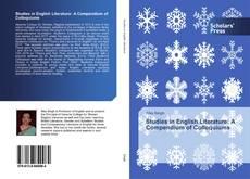 Copertina di Studies in English Literature: A Compendium of Colloquiums