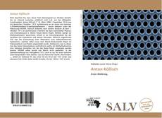 Capa do livro de Anton Köllisch
