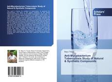 Capa do livro de Anti-Mycobacterium Tuberculosis Study of Natural & Synthetic Compounds