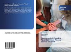 Copertina di Assessment of Empathy Towards Patient Among Medical Students