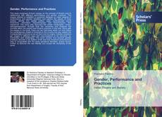 Capa do livro de Gender, Performance and Practices