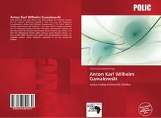 Bookcover of Anton Karl Wilhelm Gawalowski