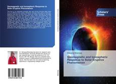 Portada del libro de Geomagnetic and Ionospheric Response to Solar Eruptive Phenomenon