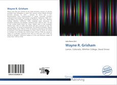 Wayne R. Grisham kitap kapağı