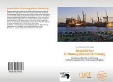 Buchcover von Bezirklicher Ordnungsdienst Hamburg