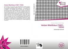 Bookcover of Anton Matthäus (1601–1654)