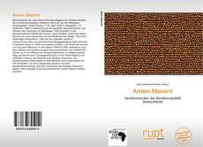 Capa do livro de Anton Morent