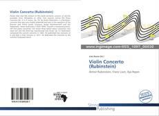 Обложка Violin Concerto (Rubinstein)