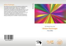 Bookcover of Anton Pachinger