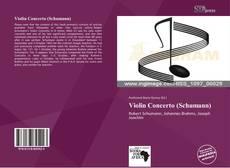 Обложка Violin Concerto (Schumann)