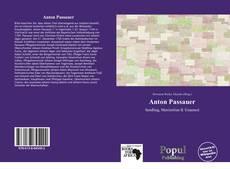 Bookcover of Anton Passauer