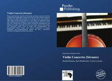 Bookcover of Violin Concerto (Strauss)