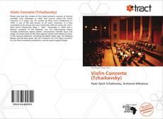 Bookcover of Violin Concerto (Tchaikovsky)