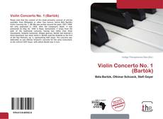 Bookcover of Violin Concerto No. 1 (Bartók)