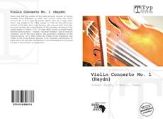 Bookcover of Violin Concerto No. 1 (Haydn)