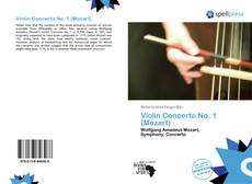 Bookcover of Violin Concerto No. 1 (Mozart)