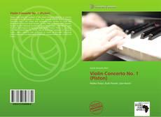 Couverture de Violin Concerto No. 1 (Piston)
