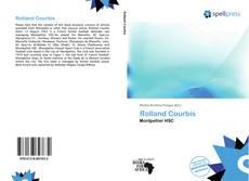 Borítókép a  Rolland Courbis - hoz