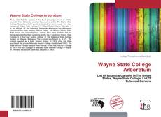 Обложка Wayne State College Arboretum