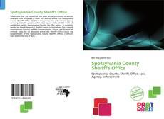 Bookcover of Spotsylvania County Sheriff's Office