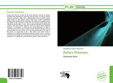 Bookcover of Rolle's Theorem