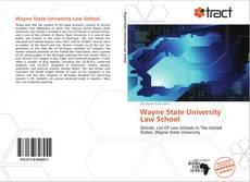 Wayne State University Law School kitap kapağı