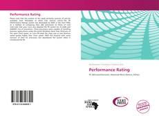 Borítókép a  Performance Rating - hoz
